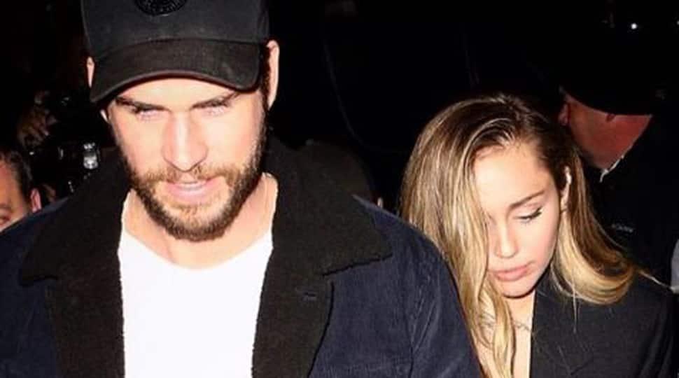 Hemsworth calls Cyrus 'my love', she calls him 'hottest man in Hollywood'
