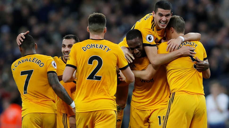 EPL: Rampant Wolves raid Wembley to hurt Tottenham Hotspur`s title hopes