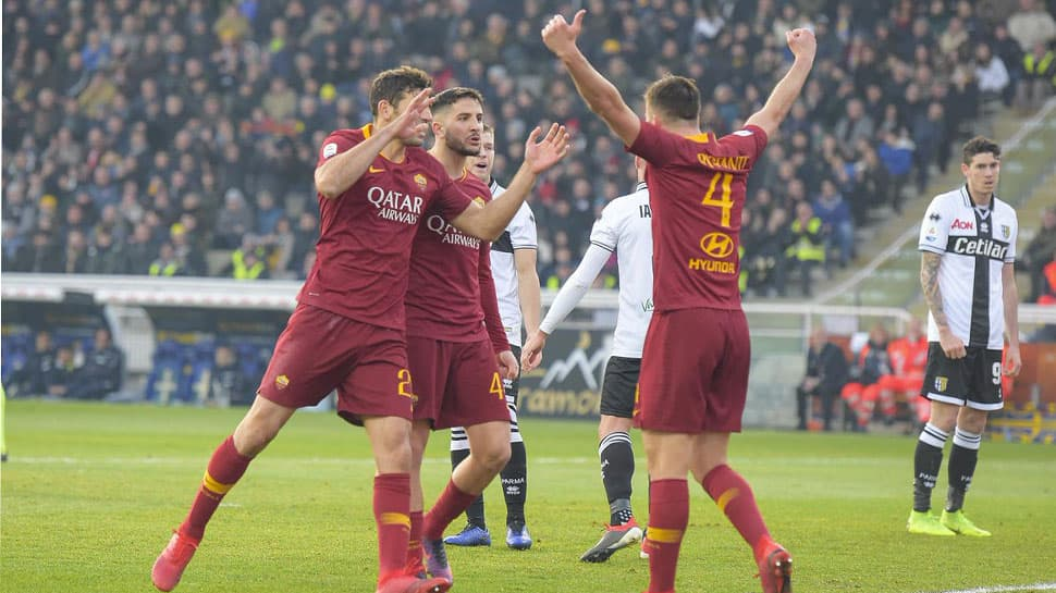 AS Roma beat Parma 2-0 in Serie A clash