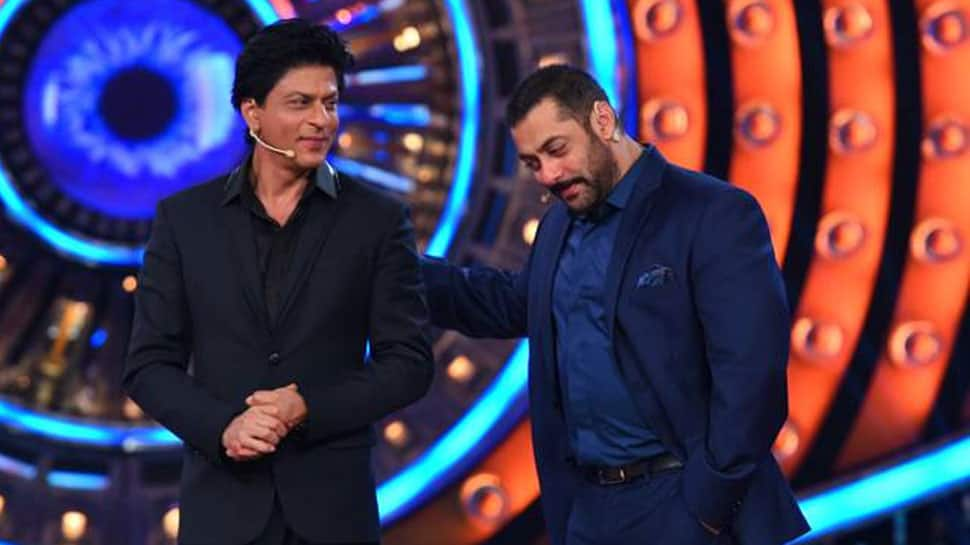 Salmann Khan, SRK revive 'Karan Arjun' memories