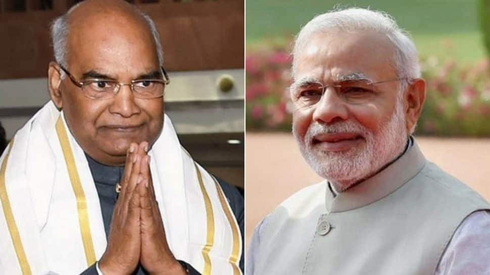 PM Modi, President Kovind greet nation on new year 2019