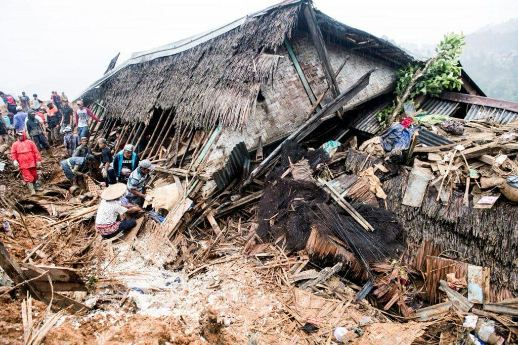 Indonesia landslide kills at least 9