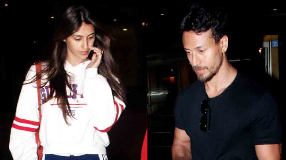 Disha Patani, Tiger Shroff return home after their Maldives vacations