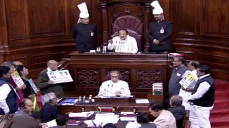 People laughing at us, image of Parliament hit: Venkaiah Naidu on ruckus in Rajya Sabha