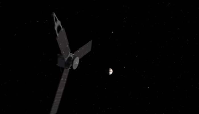 NASA's Juno probe captures volcanic plumes on Jupiter's moon Io