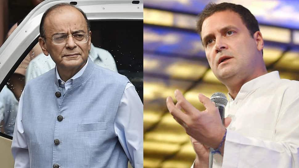 Congress only understands money, not national security or combat aircraft: Arun Jaitley