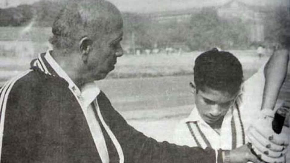 Master blaster Sachin Tendulkar's coach Ramakant Achrekar dies at 87