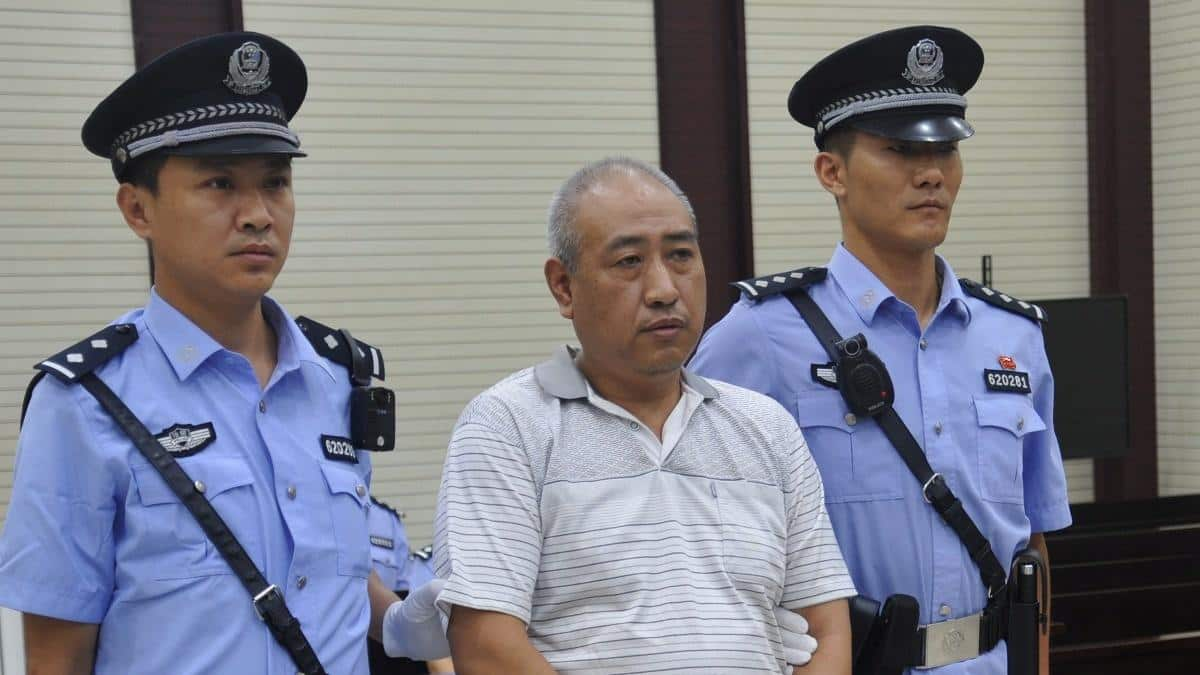 China's 'Jack the Ripper' executed for murdering nearly dozen women