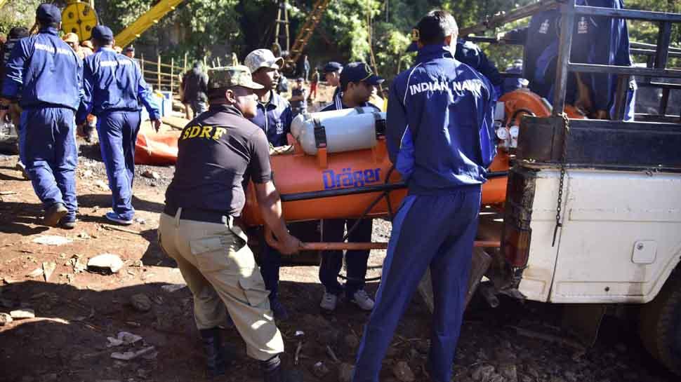 Meghalaya mine: No change in water level
