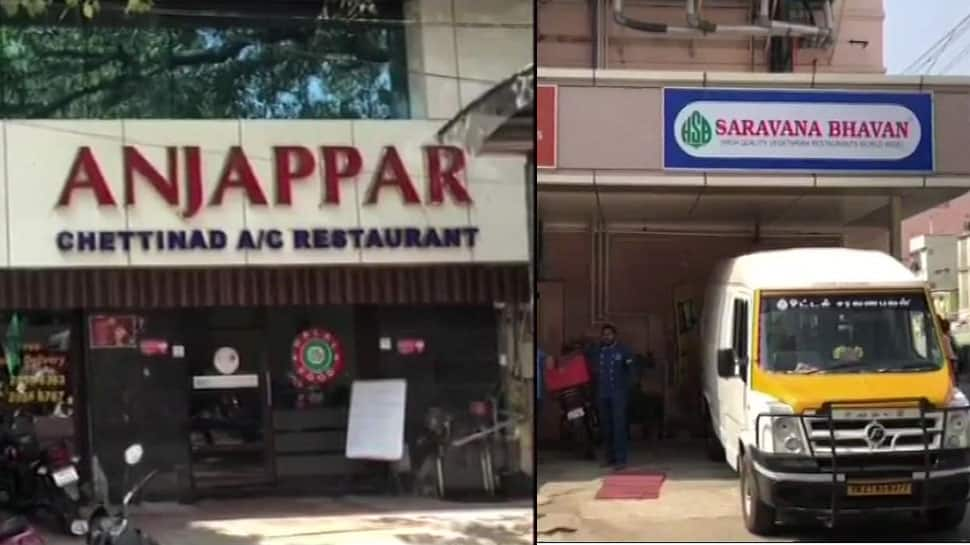 IT raids at Saravana Bhavan and 3 other popular food chain groups in Chennai