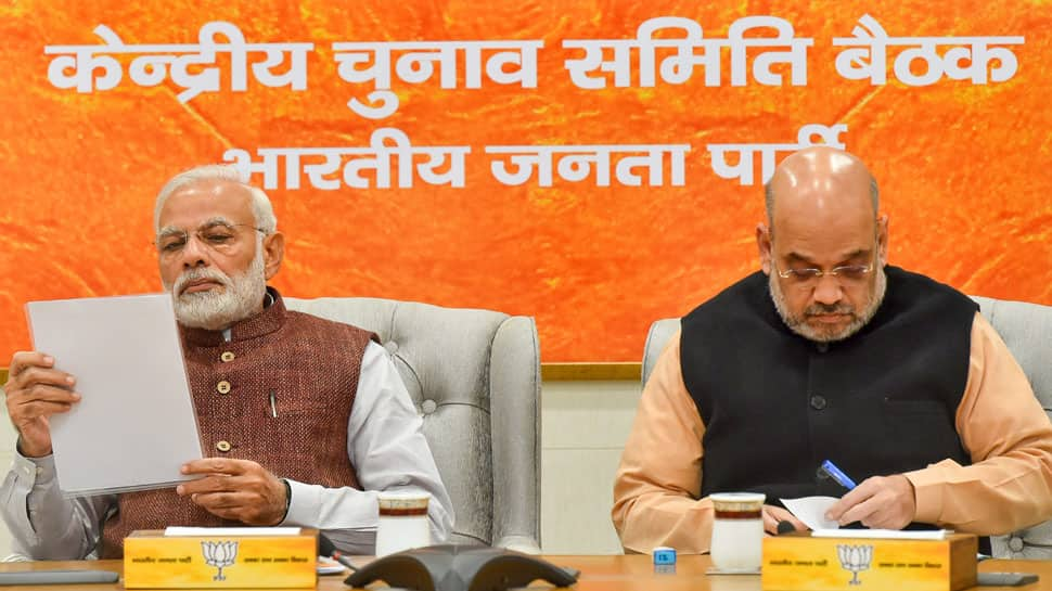 BJP appoints Arun Jaitley, Rajnath Singh, other top leaders as observers of election