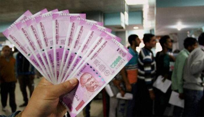 Government indicates printing of Rs 2000 note stopped for now; sufficient currency in circulation