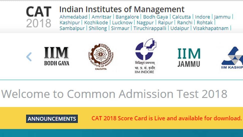 CAT Result 2018 declared by IIM Calcutta; download scorecard from iimcat.ac.in