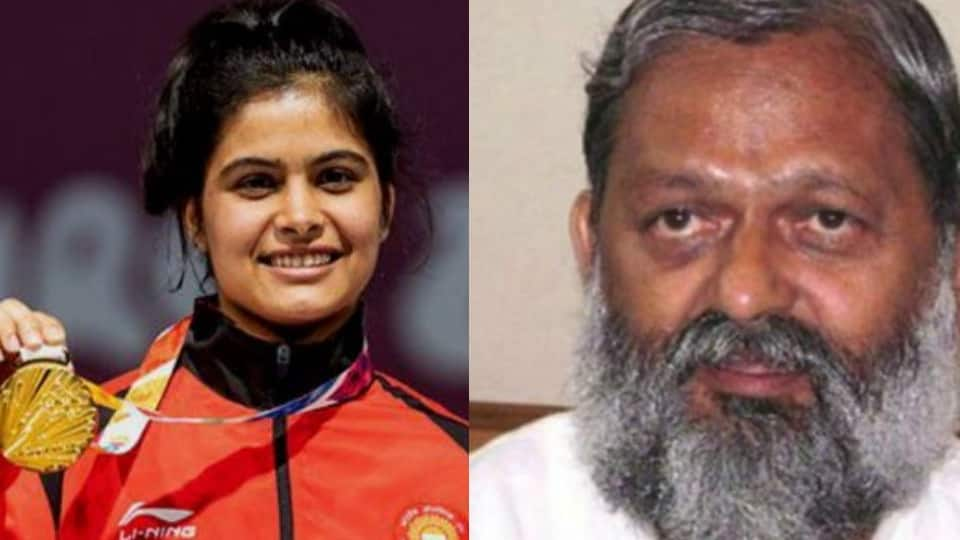 Haryana sports minister hits back at Manu Bhakar for reminding him of promised Rs 2 crore reward