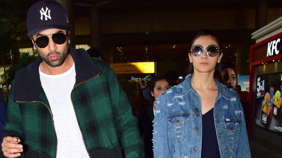 Ranbir Kapoor-Alia Bhatt return from NYC, paps go crazy clicking them at airport –See pics