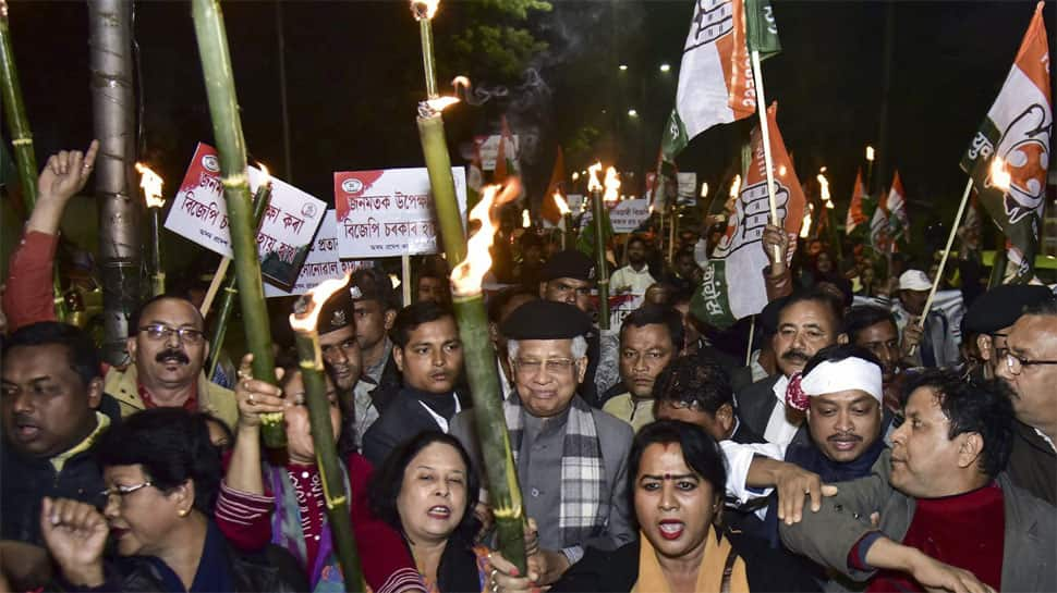 Protests erupt across Assam over Citizenship Bill