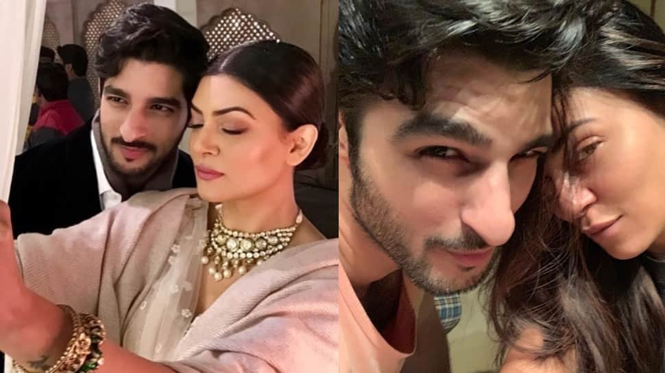 Sushmita Sen and boyfriend Rohman Shawl's Instagram chat is full of love—See inside