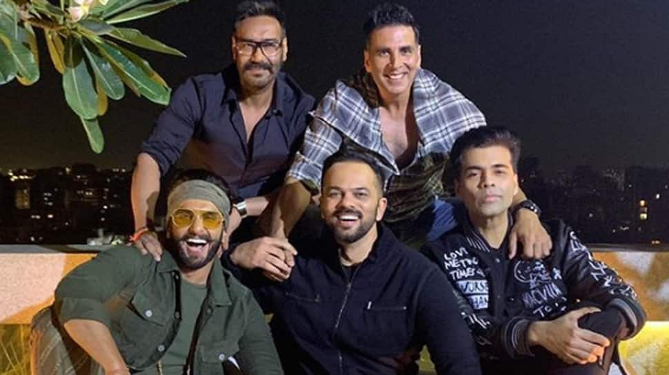 Akshay Kumar, Ajay Devgn, Ranveer Singh party hard with Rohit Shetty, Karan Johar at 'Simmba' success bash—See pic