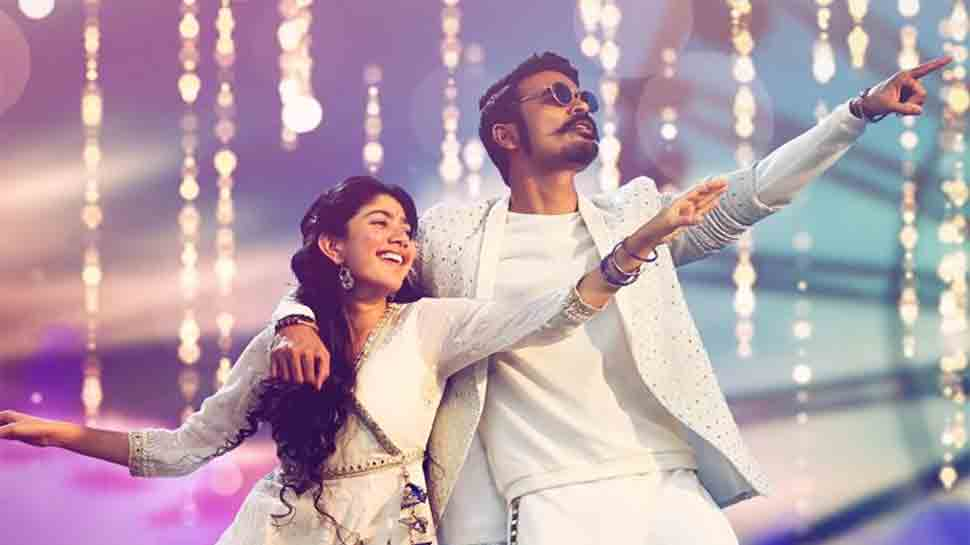 Dhanush, Sai Pallavi's Rowdy Baby song from Maari 2 is magical, gets over 3 crore views on YouTube