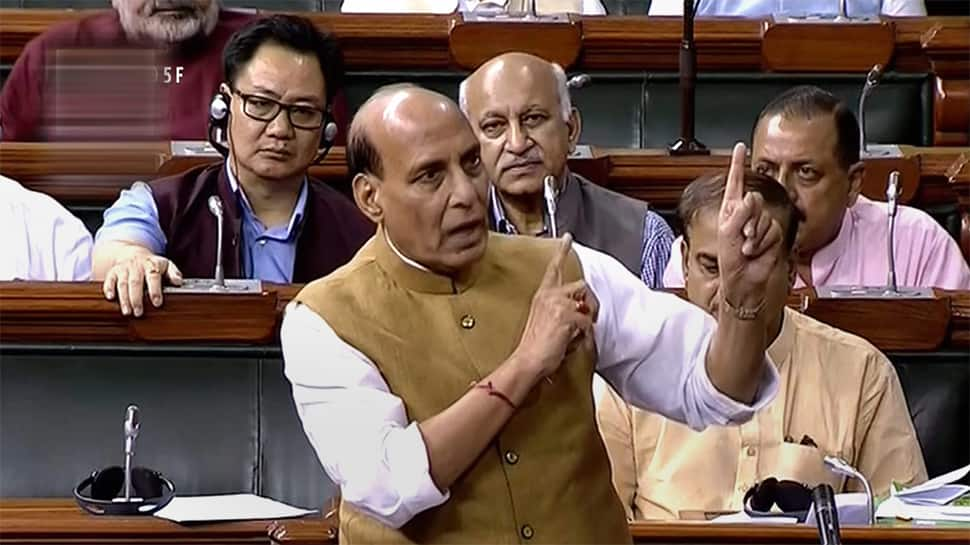 Rajnath Singh tables Citizenship Amendment Bill in Lok Sabha amid uproar, says it's not just for Assam