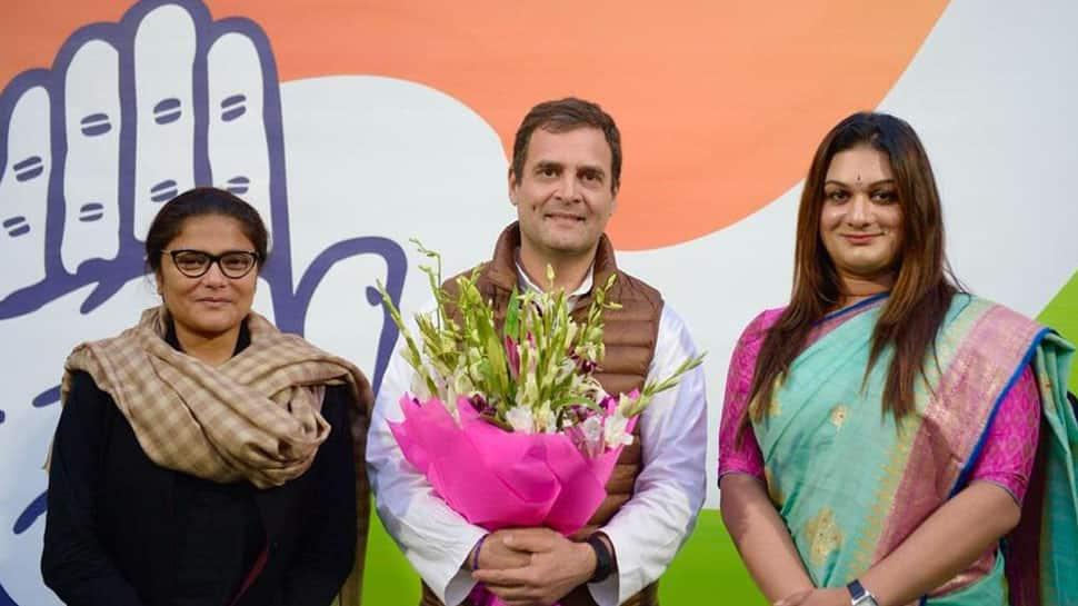 Apsara Reddy becomes first transgender National General Secretary of Mahila Congress