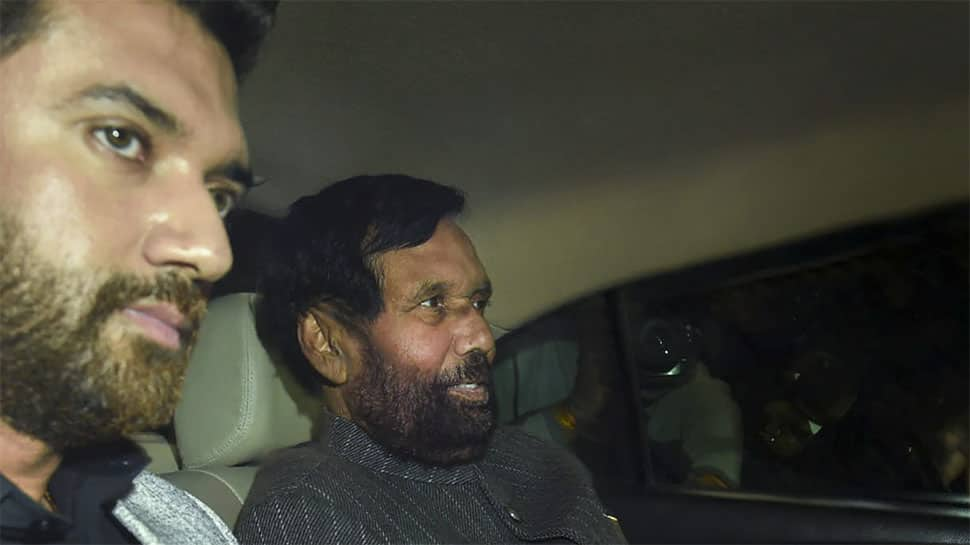 Who will contest from Ram Vilas Paswan's Hajipur constituency? Son Chirag or brother Pasupati Kumar