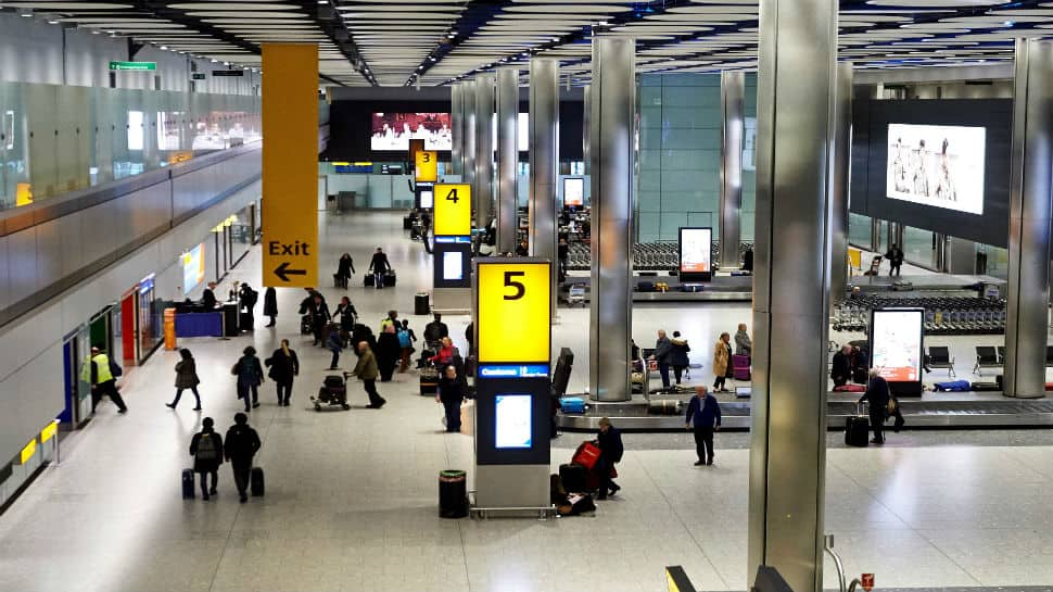 London's Heathrow halts flights after sightings of a drone