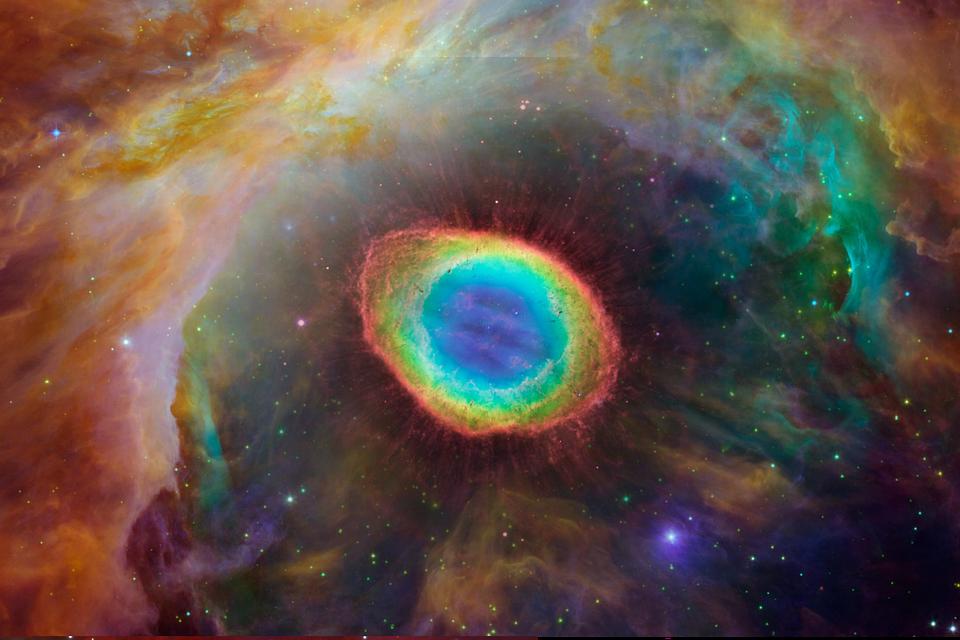 Stellar wind disrupting star formation in Orion Nebula: NASA