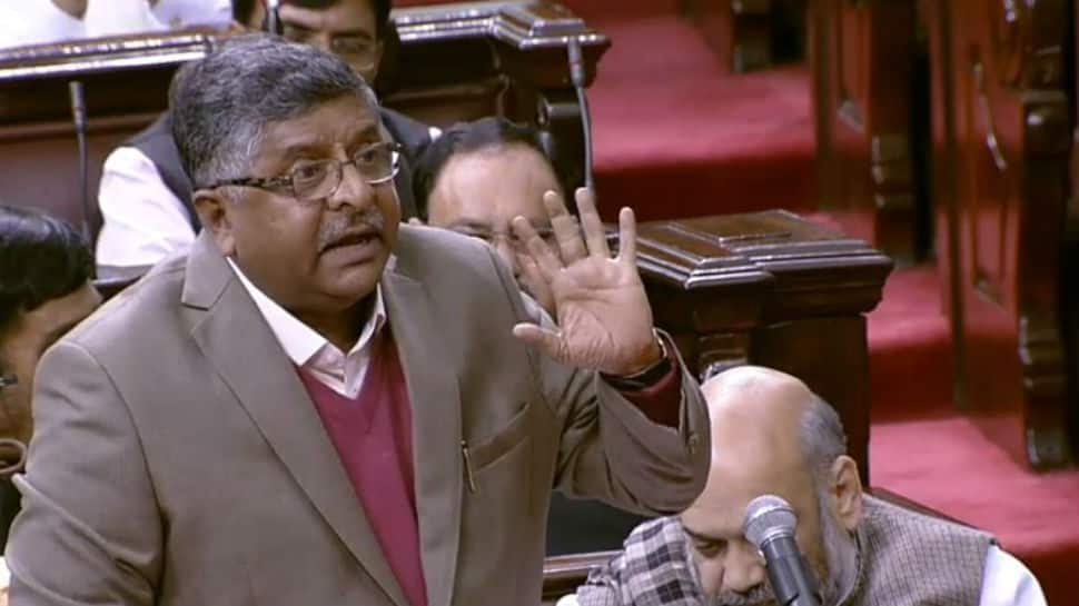Sixers are often hit in slog overs: How RS Prasad defended Quota Bill in Rajya Sabha
