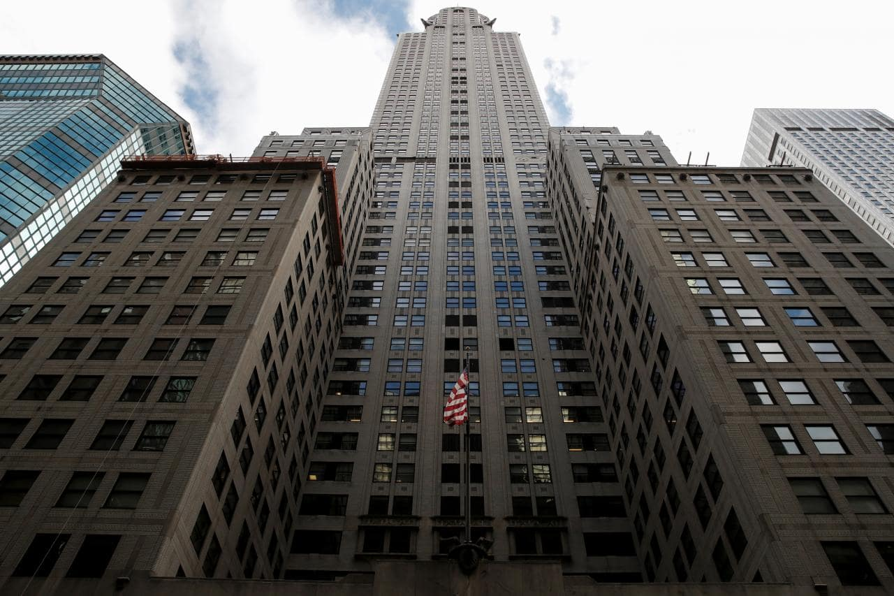 New York's Chrysler Building put up for sale