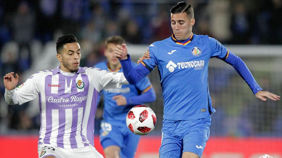 Copa del Rey: Getafe edge past Valladolid 1-0 in last-16 first leg
