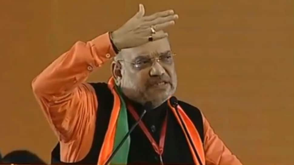 At BJP National Convention, Amit Shah issues battle cry for Lok Sabha elections