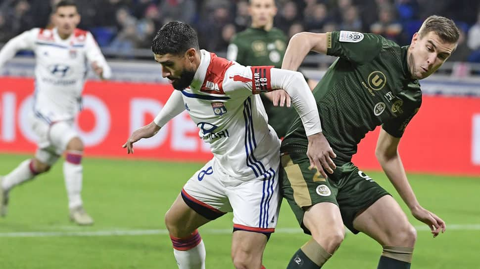 Ligue-1: Lyon lose ground in battle for second with Reims draw