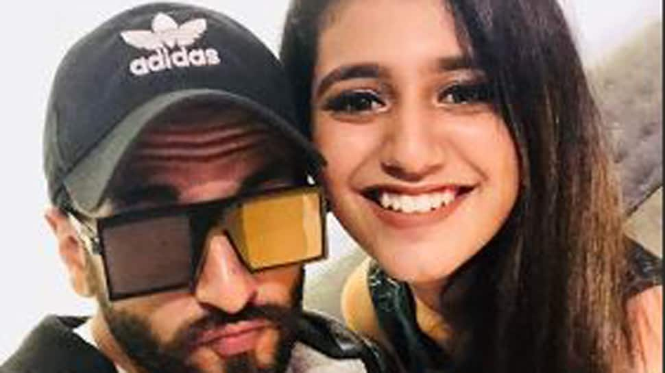 When 'wink queen' Priya Prakash Varrier met 'king of quirks' Ranveer Singh-See pic