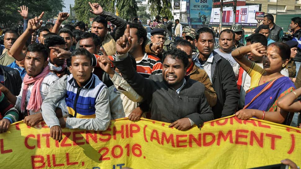 Protests continue in Assam over Citizenship Bill; agitators detained