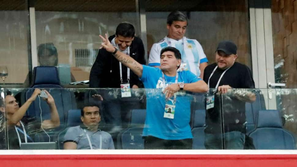 Diego Maradona recovering in hospital after surgery