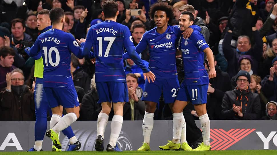 EPL: Chelsea beat Newcastle United 2-1 to stay safely in top four