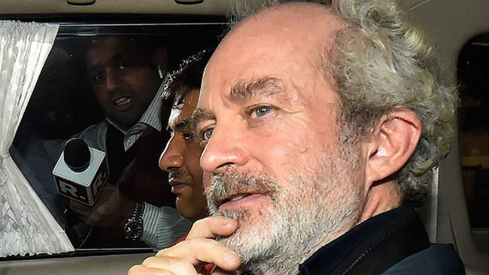 AgustaWestland case middleman Christian Michel granted 15 minutes time in a week to speak to family, lawyers