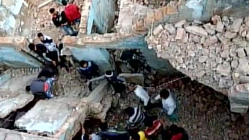 10-year-old killed, 3 injured after 3-storey building collapses in Noida Sector 31