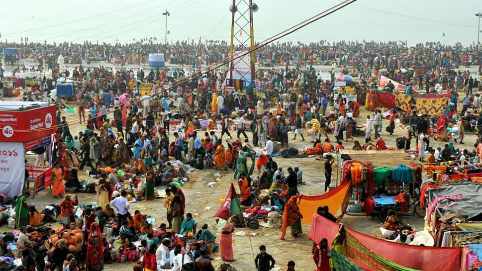 On Makar Sankranti, over three million take holy dip in Bengal's Gangasagar Mela