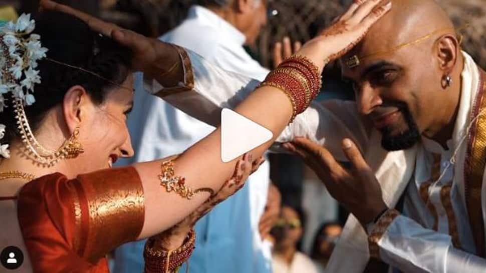 Raghu Ram shared a glimpse of his fairytale wedding with Natalie De Luccio-Watch