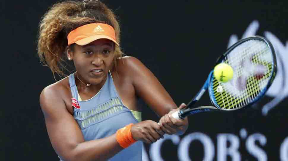 Naomi Osaka clubs her way into Australian Open second round