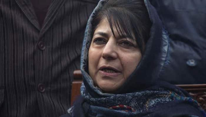 Mehbooba Mufti calls local terrorists 'sons of soil'; says Centre should engage with them for peace in J&K