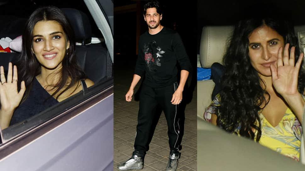Katrina Kaif, Karan Johar, Jacqueline make Sidharth Malhotra's birthday bash a starry night!