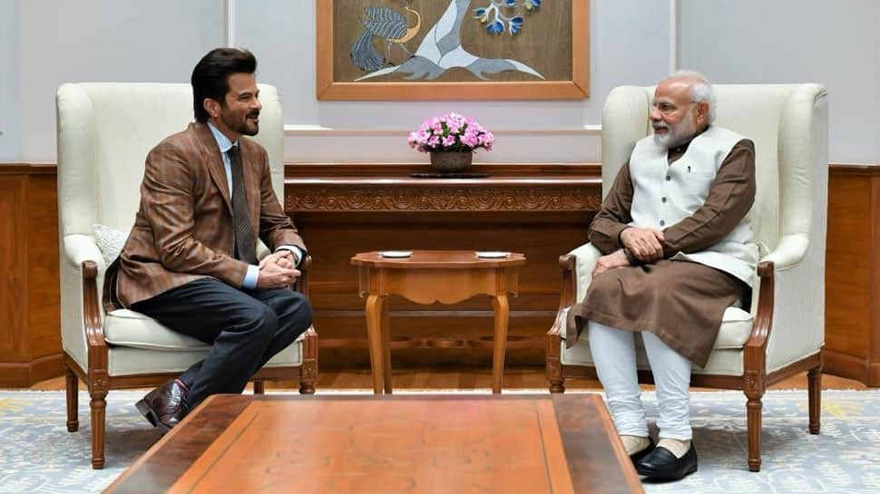 Anil Kapoor meets PM Narendra Modi in Delhi