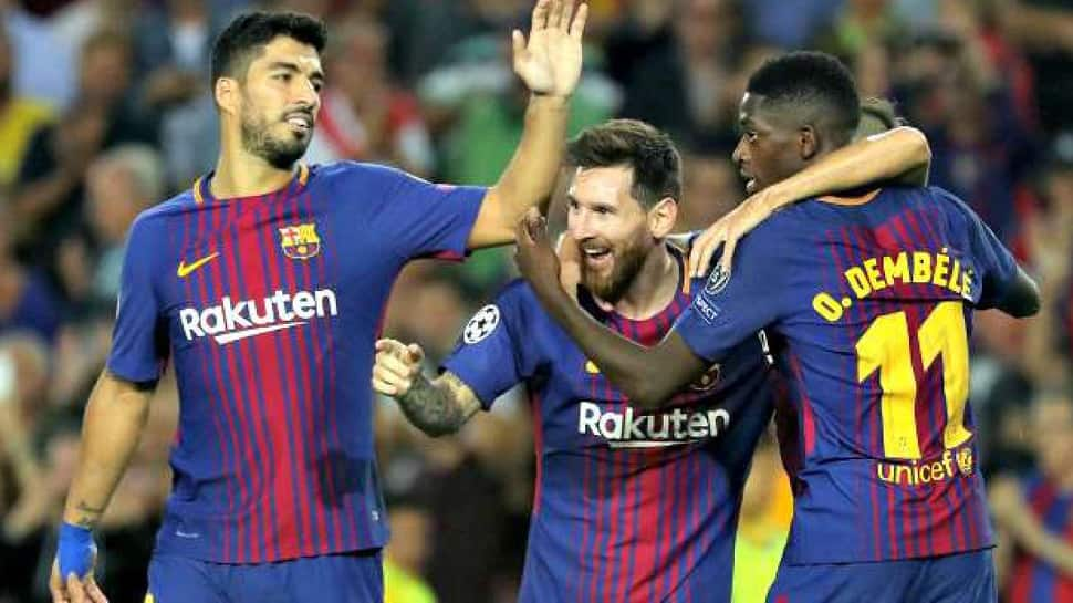 Ousmane Dembele, Lionel Messi see off Levante but Barca Cup hopes in doubt