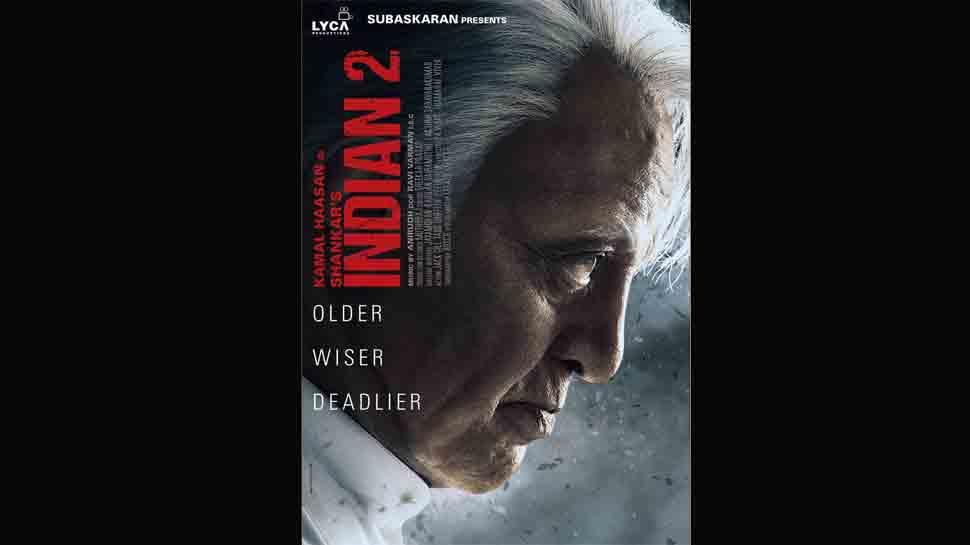 Indian 2 poster out: Kamal Haasan returns as 'Senapthy', begins shooting for S Shankar's film