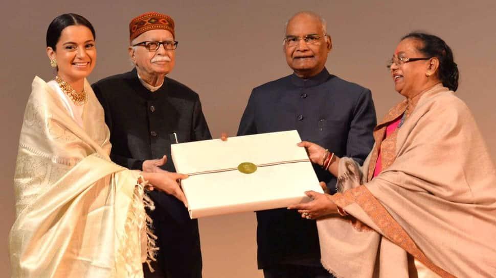 President Ram Nath Kovind watches 'Manikarnika: The Queen Of Jhansi', felicitates team—See Pics