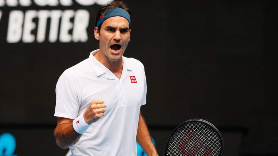 Roger Federer blocked by Australian Open security at Melbourne Park