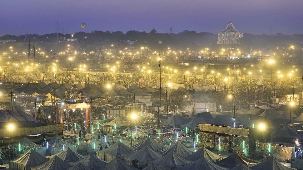 Fire breaks out in tent at Kumbh Mela in Prayagraj; all safe